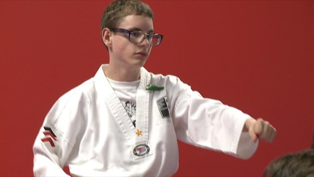 Breaking boards and barriers: Canfield 7th grader heading to Nationals in Para-Taekwondo