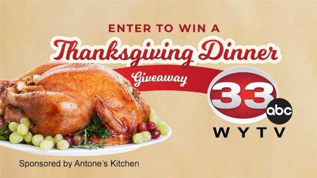 WYTV Thanksgiving Dinner Giveaway