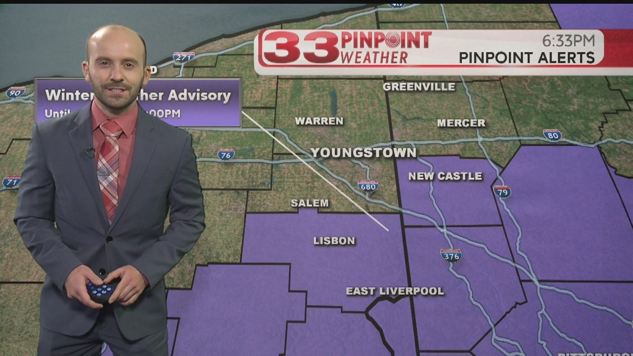 Video Update Wintry Mix Expected Slick Spots Possible Before Temps Rise