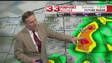 WATCH: Saturday evening showers and T-Storms