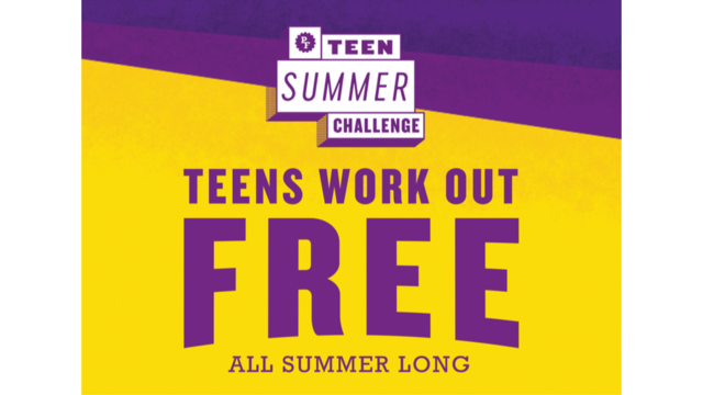 Teens work out free this summer at Planet Fitness