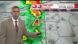 Late morning storms and humid Thursday