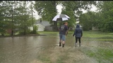 Before tornado warnings issued, Warren residents dealt with high waters